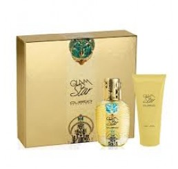 Set Custo Glam Star edt 100ml + Body 200ml