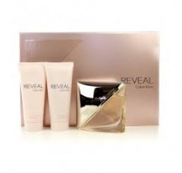 Set CK Reveal woman edp 100ml + gel 100ml + body 100ml