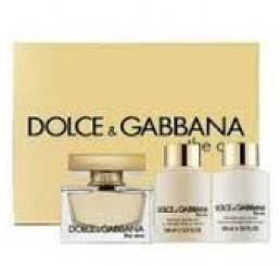 Set  D&G The One edp 75ml + body 100ml + gel 100ml