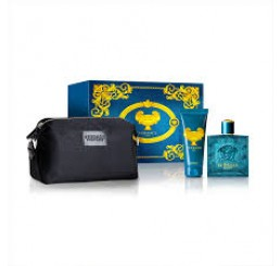 Set Eros edt 100ml + Gel 100ml + Neceset