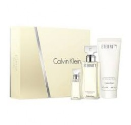 Set Ck Eternity edp 100ml + Body 200ml + edp 10ml