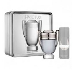 Set Invictus edt 100ml + Gel  100ml