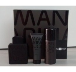 Set Mandarina Duck Black edt 100ml + Gel 75ml + Deo 150ml